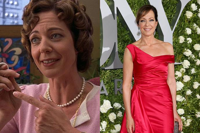 **Allison Janney aka Ms. Perky**  Not gonna lie, Ms. Perky's sexually-charged lines went over our heads back in 1999. As for Allison Janney, she's probably appeared in the most recognisable roles since 10 Things, and has voiced heaps of animated characters as well. She's starred as Bonnie on the show Mom since 2013.