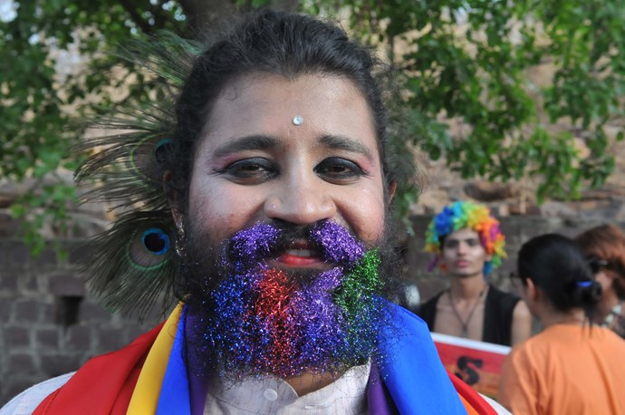 The first ever Pride Parade in Bhopal, India