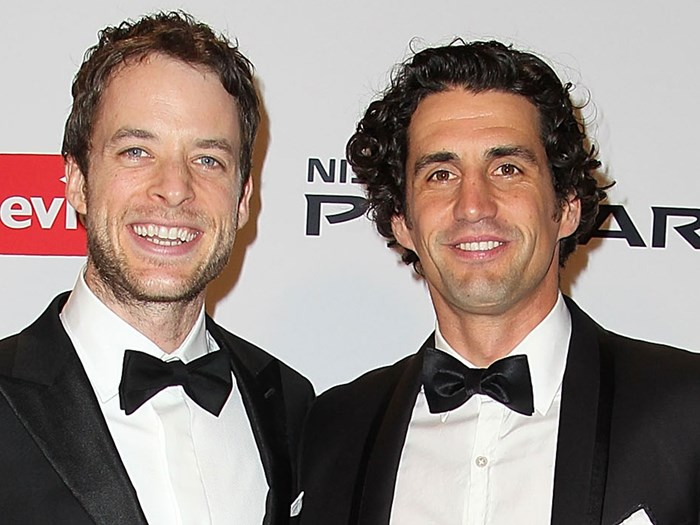 Hamish Blake created a cologne based on Andy Lee's scent and you can buy it in stores