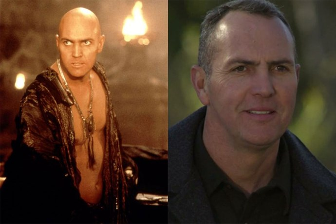 **Arnold Vosloo AKA Imhotep/The Mummy**  Whenever we think of the human version of a mummy, we think of Imhotep — and he wasn't even a pharaoh! The actor who played him, Arnold, has been in heaps of other things you've seen, like *Agent Cody Banks*, * G.I. Joe: The Rise of Cobra* and the TV show *Grimm*.