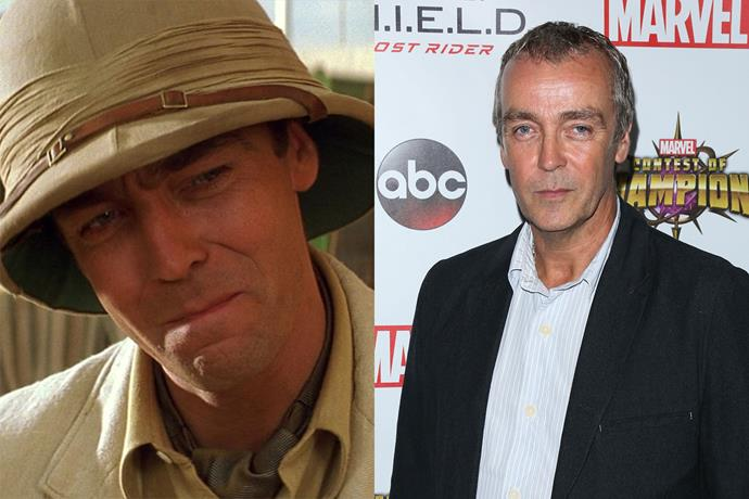 **John Hannah AKA Jonathan Carnahan**  Evie's brother Jonathan caused a bit of trouble in the movies, but he also had some redeeming qualities. IRL, John's CV is packed with film and TV roles, including *Agents of S.H.I.E.L.D.*