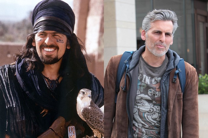 **Oded Fehr AKA Ardeth Bay**  To be honest, we never knew what this character's name was in *The Mummy*, but he was definitely a day-saver! Did you know he played Jafar in *Once Upon a Time*?