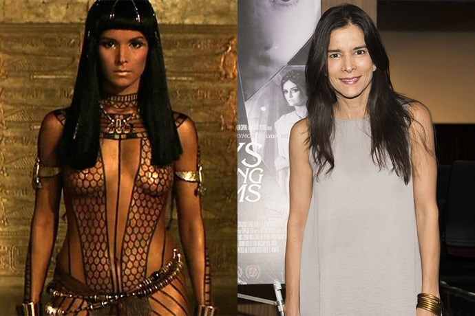 **Patricia Velásquez AKA Anck-Su-Namun**  Anck-Su-Namun was sexy and fierce AF in *The Mummy*. The actress who played her, Patricia Velásquez, has had a few acting roles since then, but she also made history at the world's first openly lesbian Latina supermodel (fun fact).