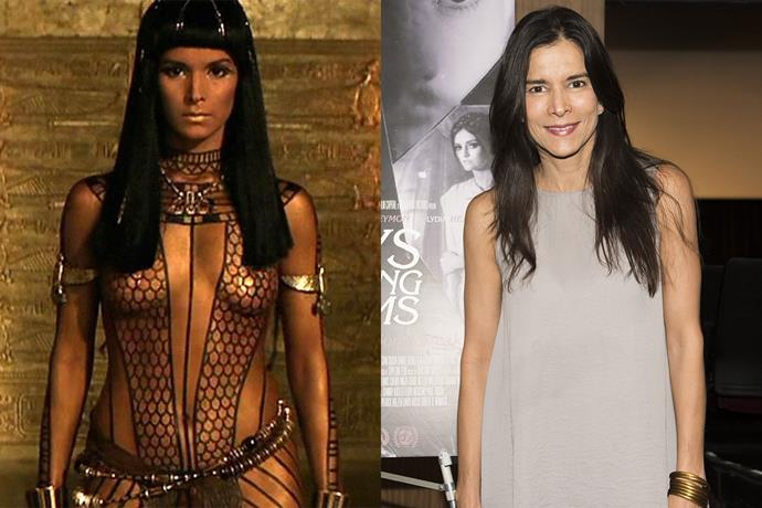 **Patricia Velásquez AKA Anck-Su-Namun**  Anck-Su-Namun was sexy and fierce in *The Mummy*. The actress who played her, Patricia Velásquez, has had a few acting roles since then, but she also made history at the world's first openly lesbian Latina supermodel (fun fact).