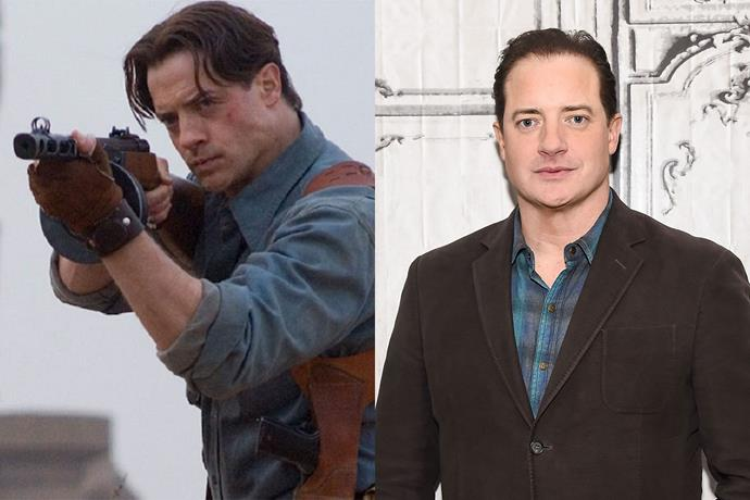 **Brendan Fraser AKA Rick O'Connell**  Rick is probably one of our favourite action movie badasses. The last time Brendan played Rick was in *The Mummy: Tomb of the Dragon Emperor* in 2008. He was also in *Journey to the Centre of the Earth* and the TV drama *The Affair*.