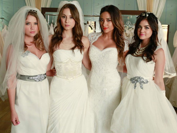 I. Marlene King spills the goss on the 'Pretty Little Liars' series finale wedding