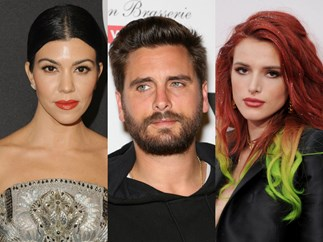 Umm did Scott Disick just send Kourtney Kardashian and Bella Thorne the same flowers?