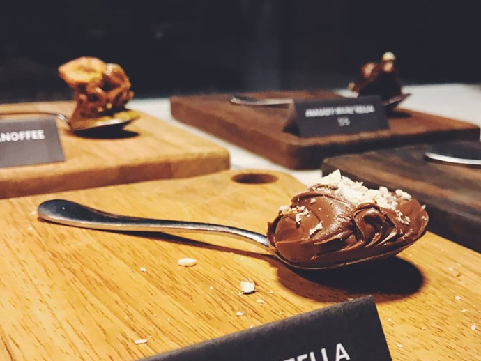 nutella spoonful 5 bucks melbourne pop up