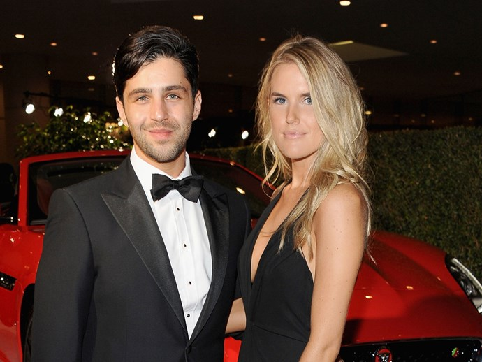 Josh Peck and wife Paige O'Brien