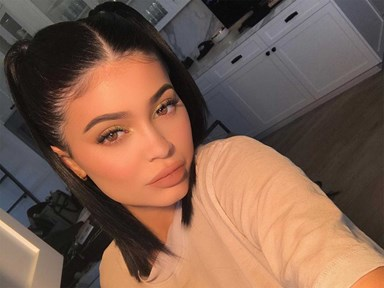 Kylie Jenner almost fell trying to do the Nicki Minaj Challenge