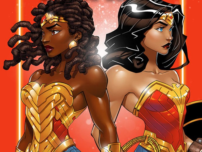 Wonder woman diana sister nubia