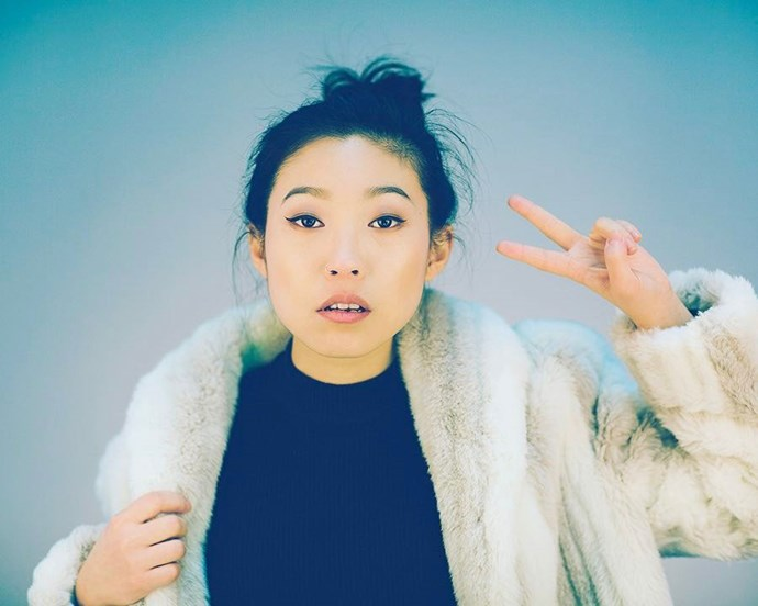 **Awkwafina = Peik Lin** <br><br> Peik is Rachel's best friend from college, but she also comes from a rich Singaporean family.