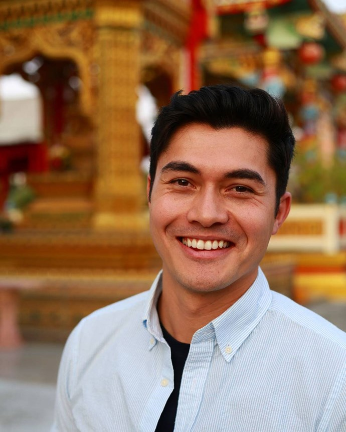 **Henry Golding = Nick Young** <br><br> Nick, Rachel's boyfriend, teaches history at NYU. He's related to a lot of the other characters in the book and movie.