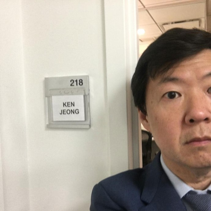 **Ken Jeong = mystery** <br><br> The hilarious star has been cast in *Crazy Rich Asians*, but no one knows who he's playing… yet.