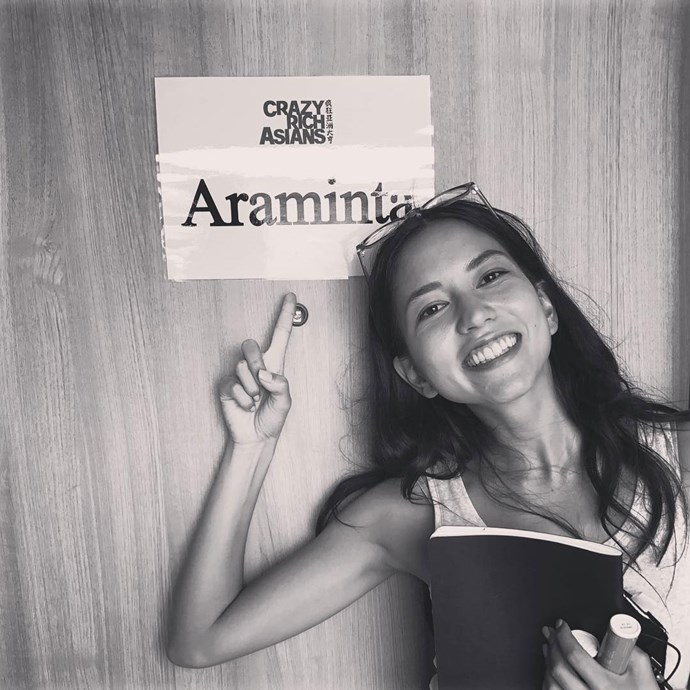 **Sonoya Mizuno = Araminta Lee** <br><br> Araminta, a fashion icon in Asia, is the daughter of one of the richest men in China. She's also Colin's fiancée.