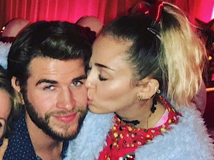 Tish Miley Cyurs Liam Hemsworth