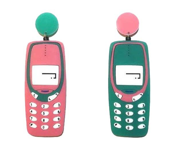 Remember playin' Snake on your Nokia 3315? LOL like that's even a question, 'course you do. Earrings, [$55](https://www.yippywhippy.com/products/copy-of-virtual-pet-earrings)