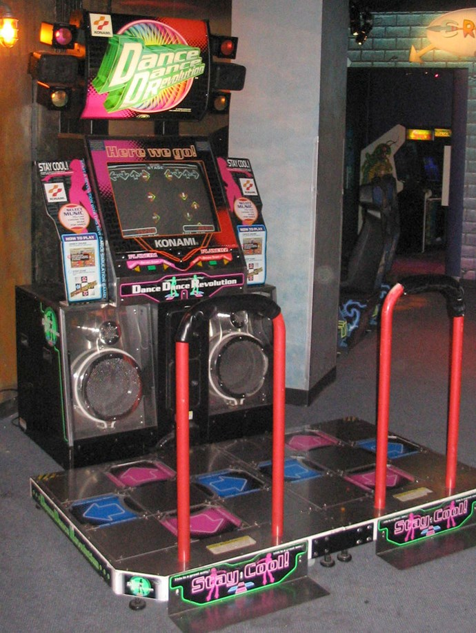 **2. Where you spent all your pocket money on either Dance Dance Revolution...**