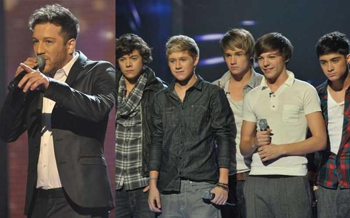 *X Factor*, 2010  Winner: Matt Cardle, Runner-Up: One Direction