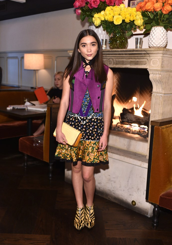 """**Rowan Blanchard:** She took to Twitter to say, """"In my life - only ever liked boys. However I personally don't wanna label myself as straight, gay or whateva so I am not gonna give myself labels to stick with - just existing;)"""" She added, """"Yes, [I'm] open to liking any gender in future is why I identify as queer."""""""
