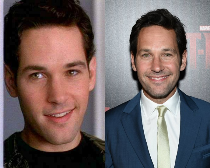 **Paul Rudd aka Josh Lucas**:   Paul Rudd, aka the man who seems to have discovered the fountain of youth, has maintained a super successful career in film and TV to this day. He's starred in everything from *Anchorman* to *I Love You Man* and is even set to star is Ant-Man in next year's superhero flick.
