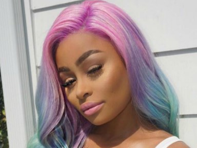 Blac Chyna just washed that man right outta her hair with her new unicorn locks