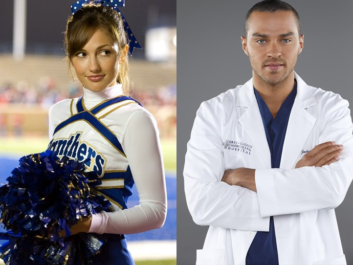 Although there's been no official confirmations, [sources say](http://people.com/celebrity/jesse-williams-minka-kelly-dating/) that **Minka Kelly**, AKA Lyla from *Friday Night Lights*, and **Jesse Williams**, AKA Dr Jackson Avery from *Grey's Anatomy*, are going steady. Well, Lyla *did* leave her tiny Texas town for better things, right? Maybe one was a hot doctor...