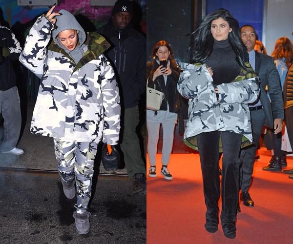 Kylie Jenner copied Rihanna