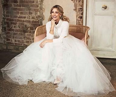 EXCLUSIVE: Behind-the-scenes of Anna Heinrich's GORGE Cosmopolitan Bride cover shoot
