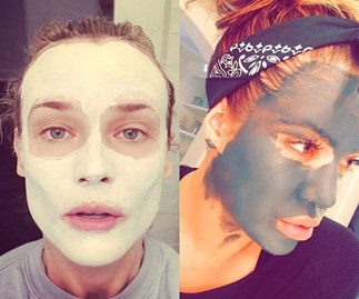 This genius hack means you can apply a face mask AND do your makeup at the same time!