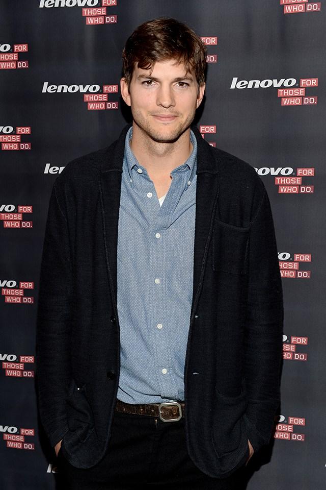 **Ashton Kutcher** is actually Christopher Ashton Kutcher.
