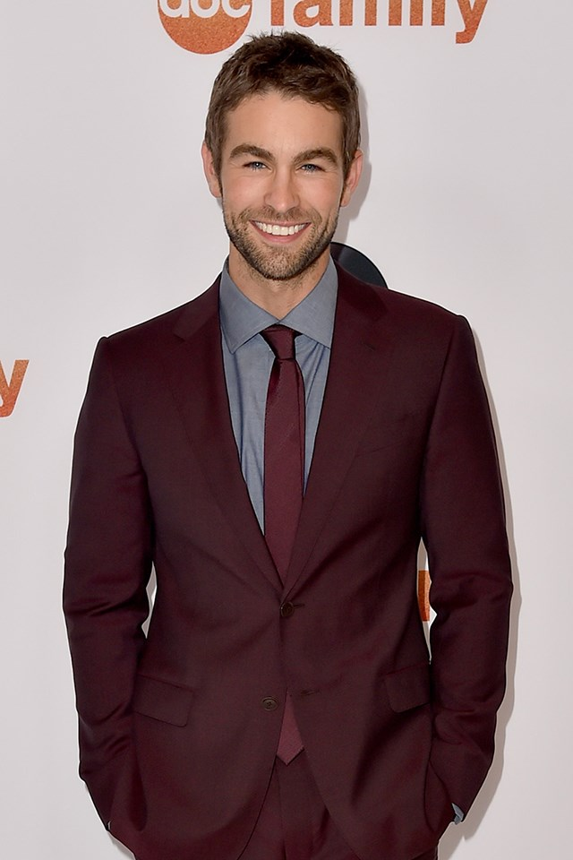 **Chace Crawford** is actually Christopher Chace Crawford.