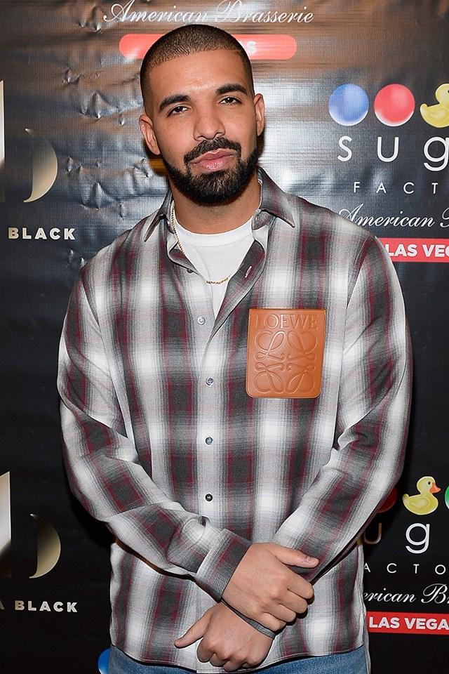 **Drake** is actually Aubrey Drake Graham.