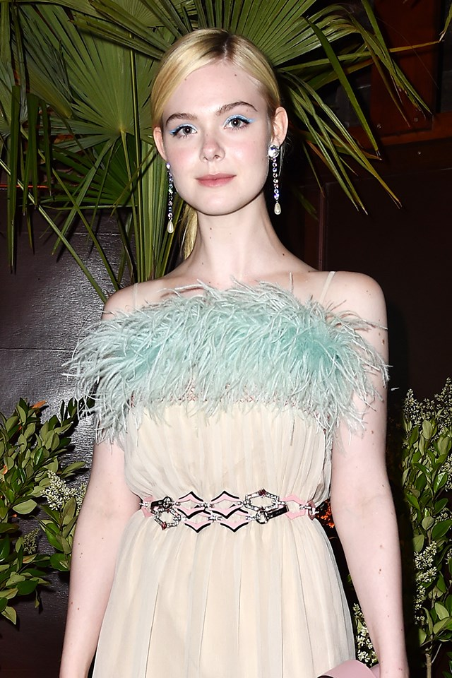 **Elle Fanning** is actually Mary Elle Fanning.