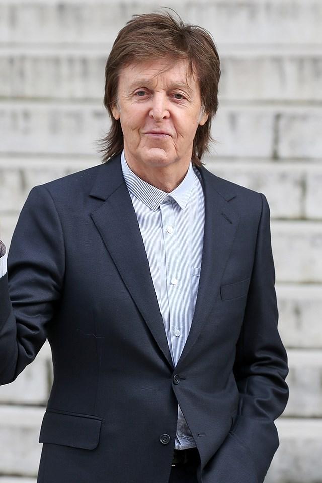**Paul McCartney** is actually James Paul McCartney.