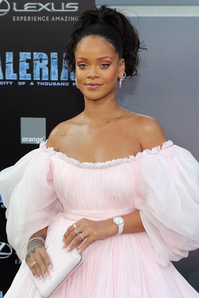 **Rihanna** is actually Robyn Rihanna Fenty.