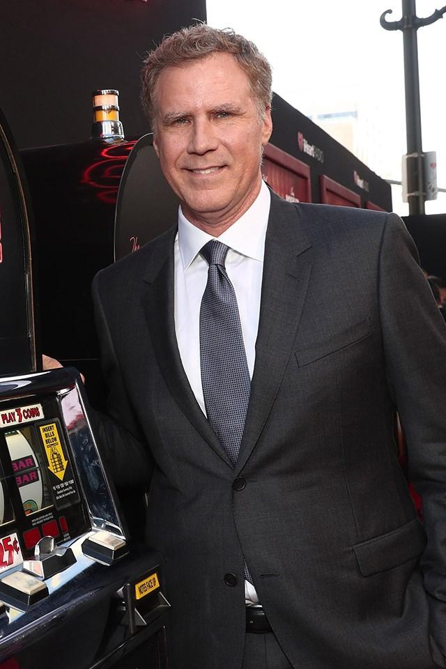 **Will Ferrell** is actually John William Ferrell.