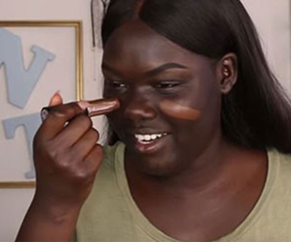 This YouTube series follows one woman's struggle to find a foundation to match her skin