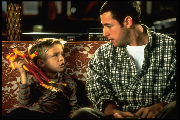**1999** Futher proof of Cole's cuteness on the *Big Daddy* screen.