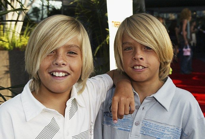**2004** Around the time that the twin's teeth started growing before the rest of their body.