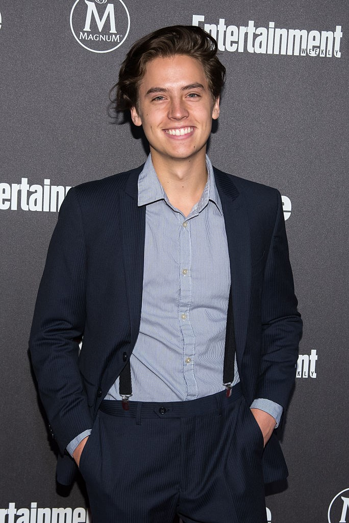 **2016** Cole at the *Entertainment Weekly* party, looking damn fine.
