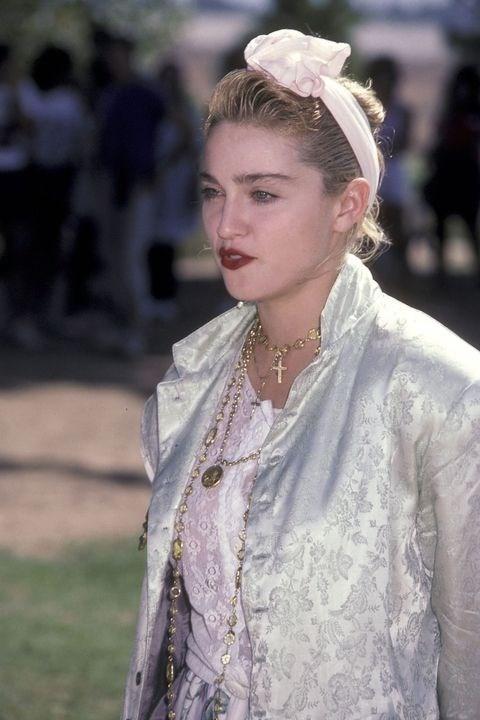 **1984: Big bows** <br><br> Flash back to this year, and you can find Madonna (and her fans) sporting fabric bow headbands in just about every shape and size.