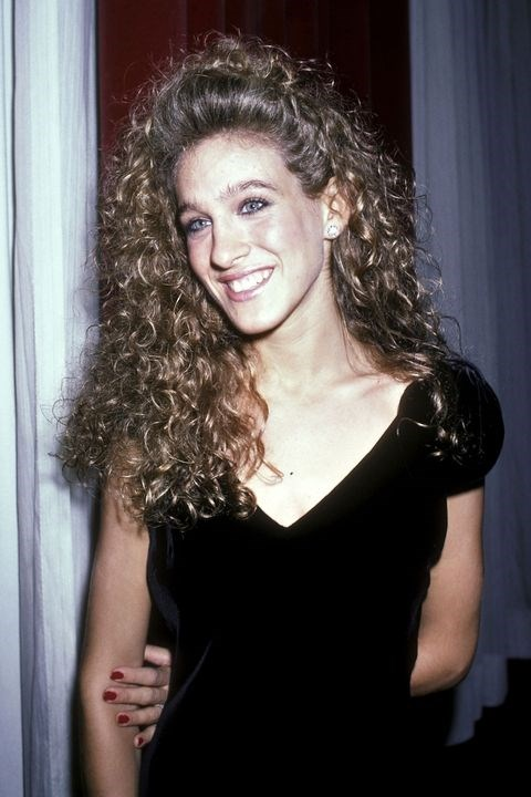 **1985: The Perm** <br><br> Long before Carrie Bradshaw hit the streets of NYC, Sarah Jessica Parker was just a girl who wanted to have fun. And what's more fun than endless curls?