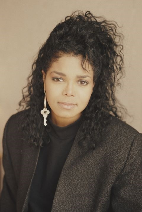 **1990: Waterfall curls** <br><br> Channel Janet Jackson and pile all your curls on the top of your head, then let them spill over like a fountain.