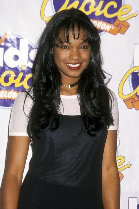 **1993: Bubble banks** <br><br> A blow-dryer and a round brush (plus some strong-hold hairspray) is all you need to recreate Tatyana Ali's bubble bangs.
