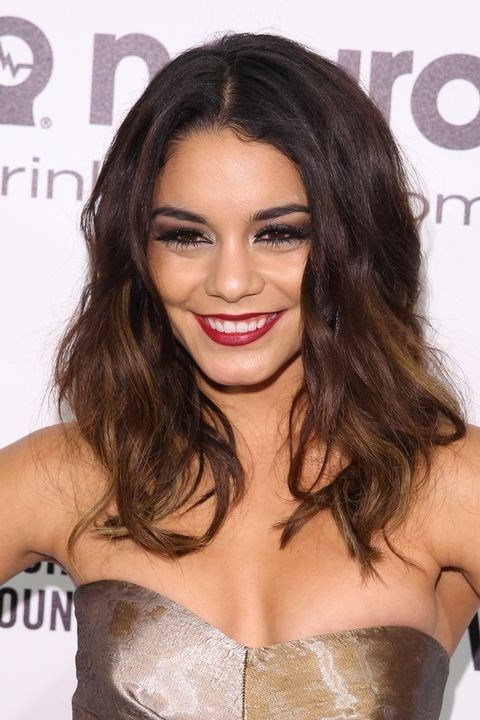 **2014: Beachy waves** <br><br> Glam curlsgave way to textured, tousled waves, like Vanessa Hudgens' ones.