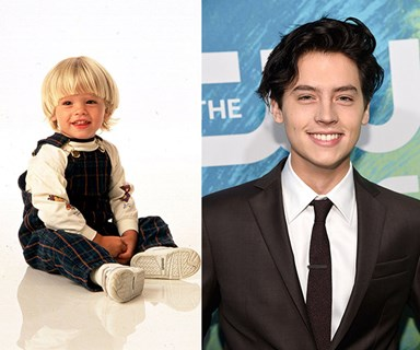 Cole Sprouse's evolution from baby to BAE