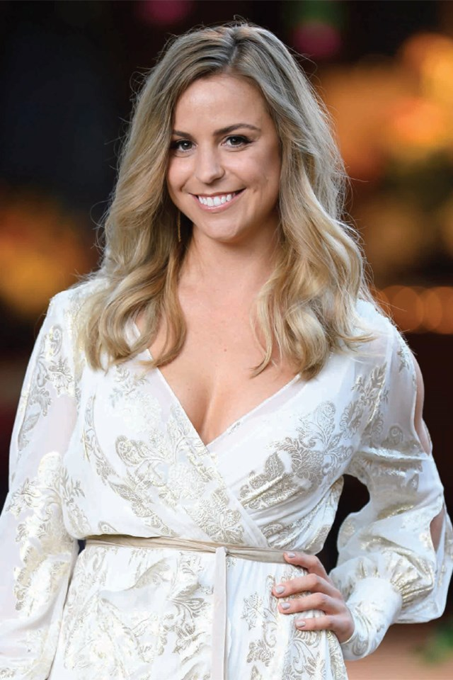 **Elise** <br><br> Elise, 29, is a **marketing executive** from **Western Australia** who used to play for the Hockeyroos. She's obviously sporty, and says she loves adventure — things Matty seems to want in a woman.
