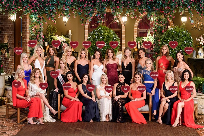 All the ladies competing for Matty J's love on *The Bachelor Australia* this year.