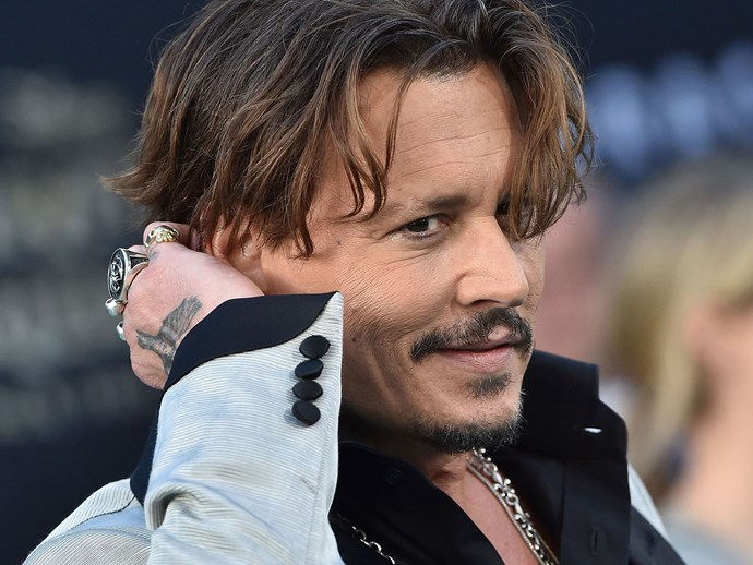 Johnny Depp allegedly spent an insane amount of money on a couch owned by the Kardashians